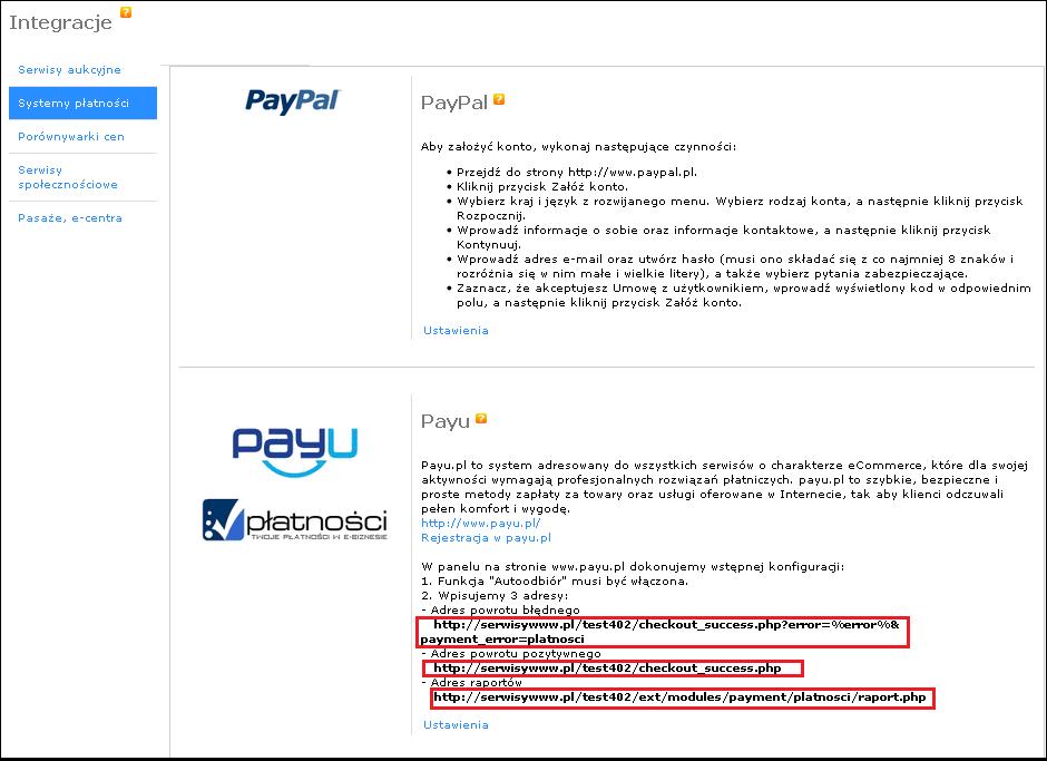 Payu Platnosci Payu W Sklepie Internetowym Instrukcja Oprogramowania Sklepu Sstore Instrukcja Oprogramowanie Sklepu Internetowego Sstore