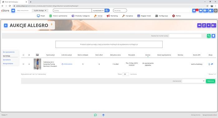 Wystaw Przedmiot Instrukcja Oprogramowanie Sklepu Internetowego Sstore